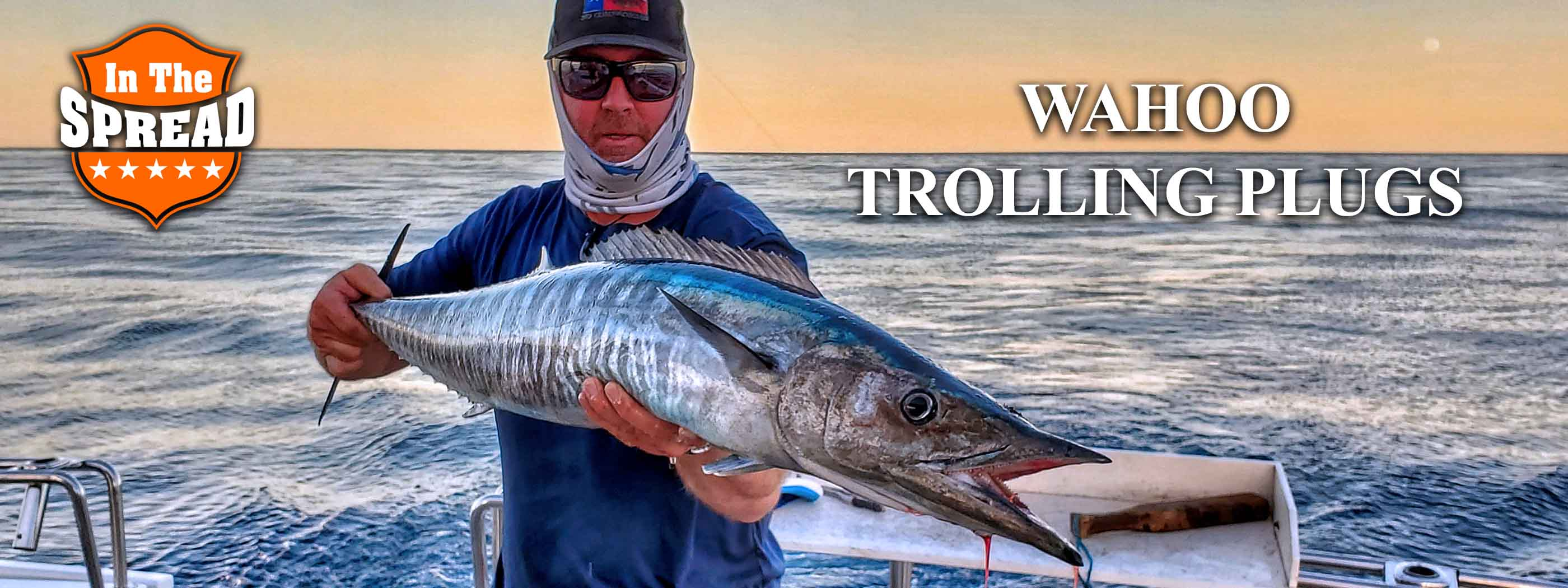 wahoo fishing videos in the spread