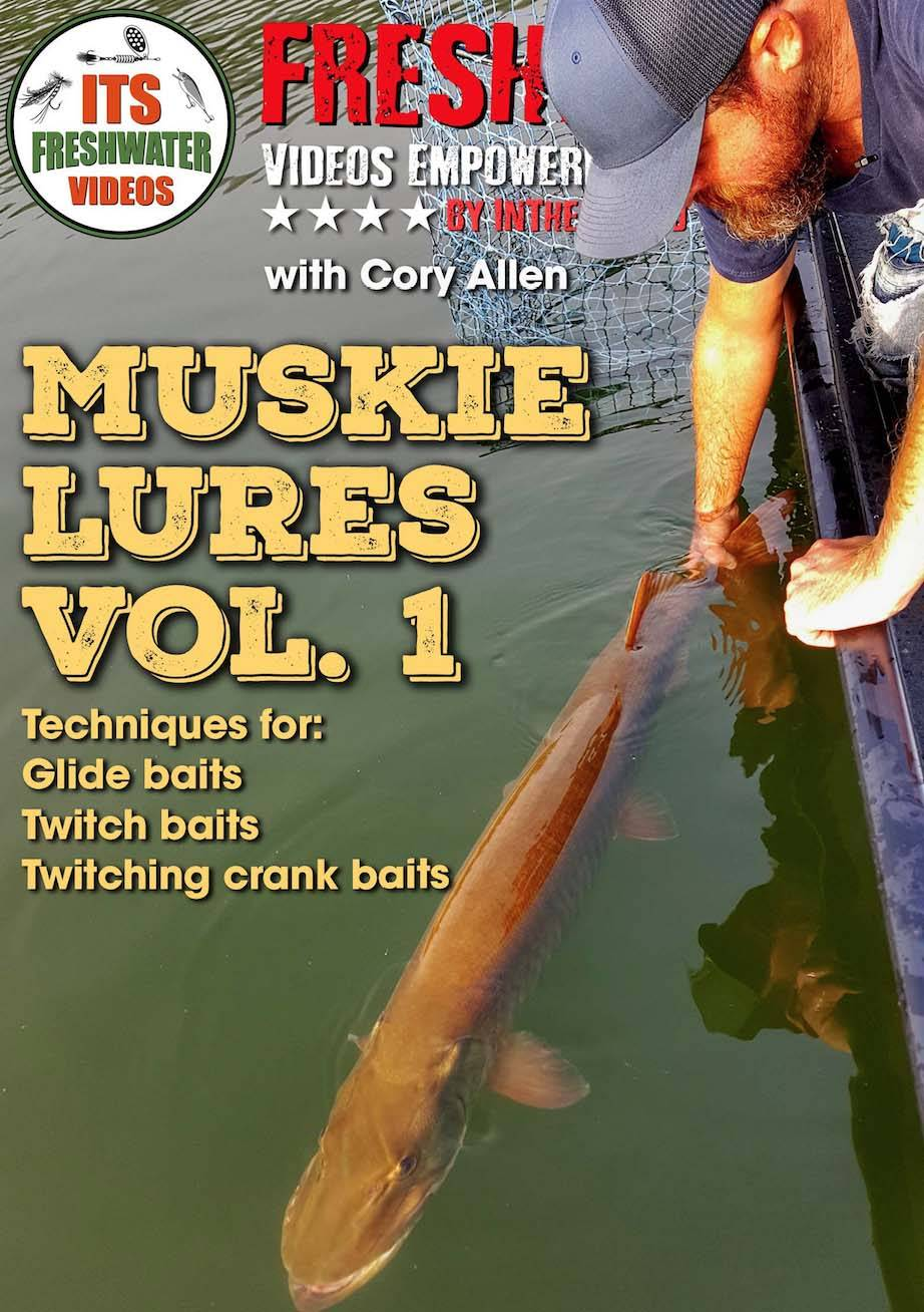 muskie lures cory allen in the spread fishing videos