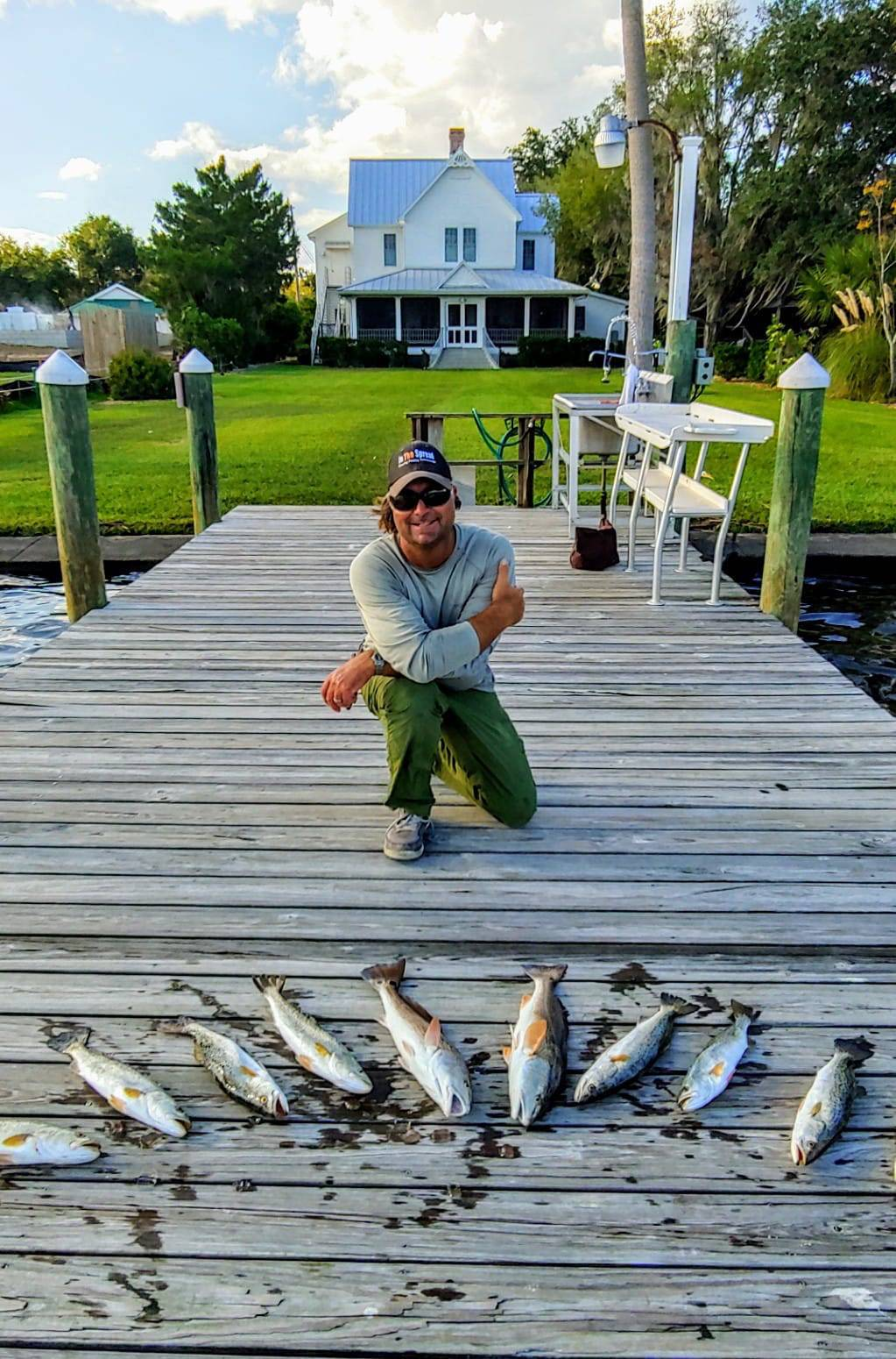 homosassa inshore fishing william toney fishing video