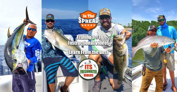 in the spread fishing video inshore offshore freshwater