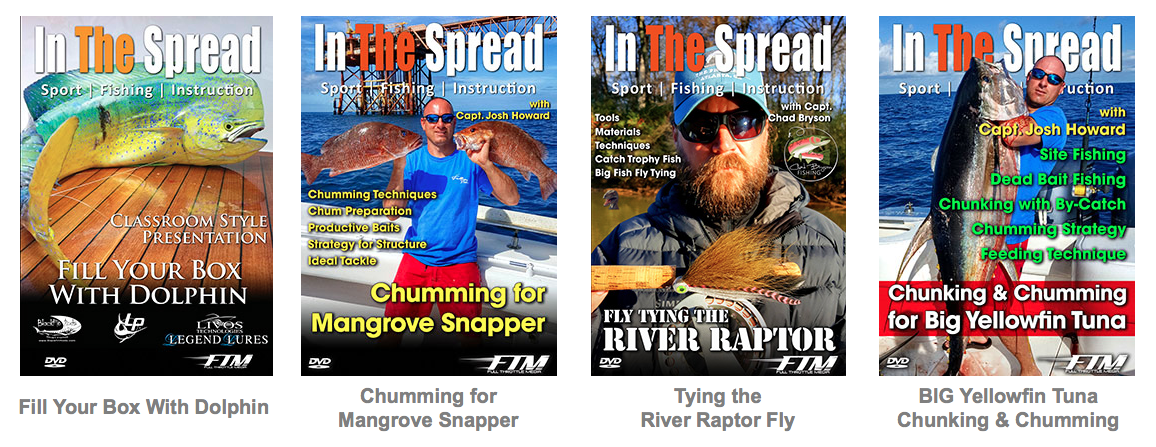 in the spread fishing videos instruction