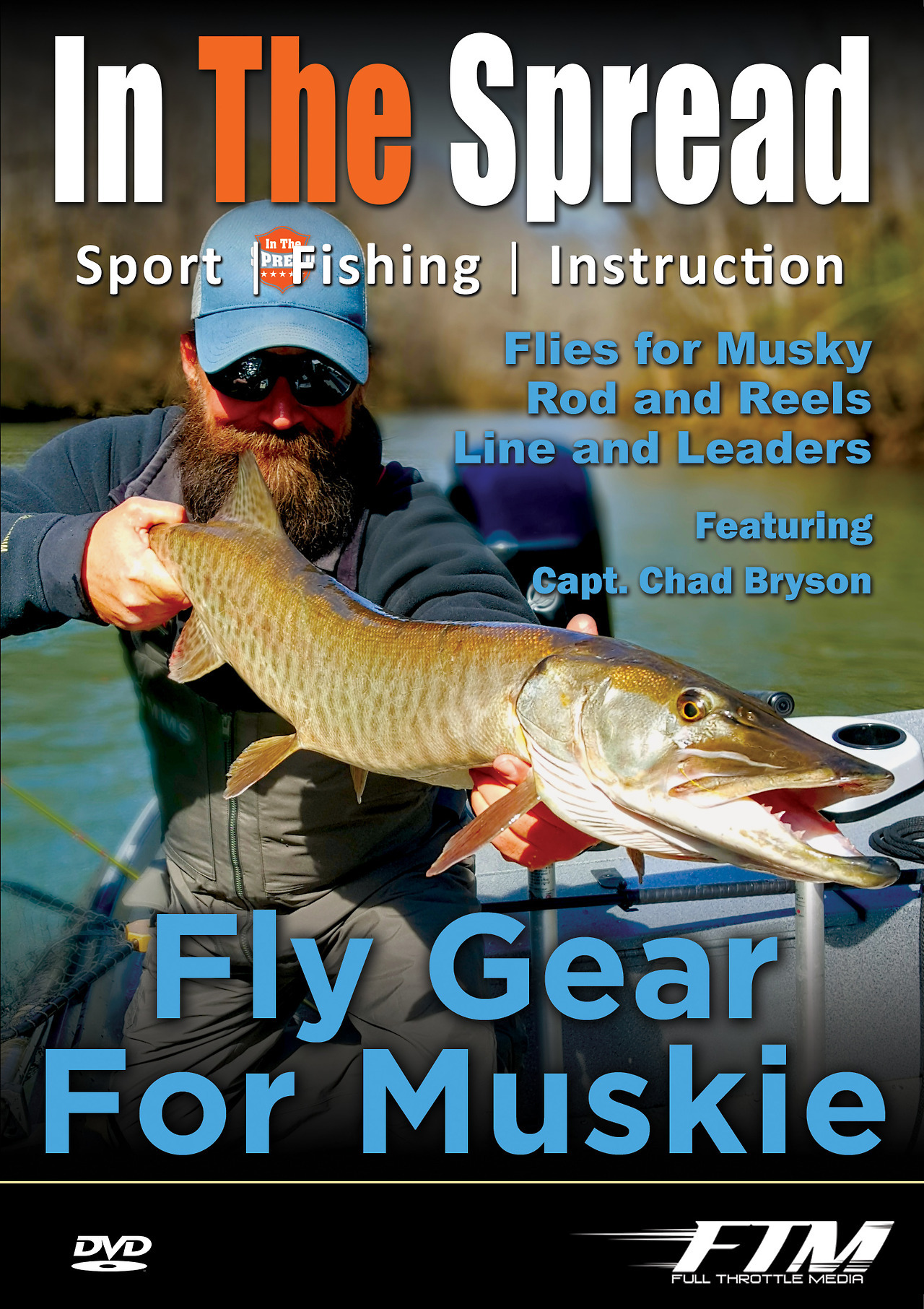 fly fishing tackle muskie in the spread chad bryson