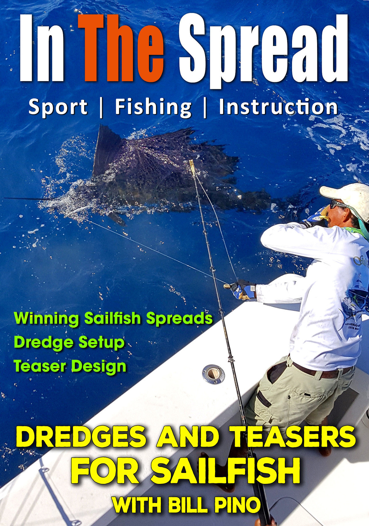 dredge fishing teasers in the spread fishing video squid nation bill pino