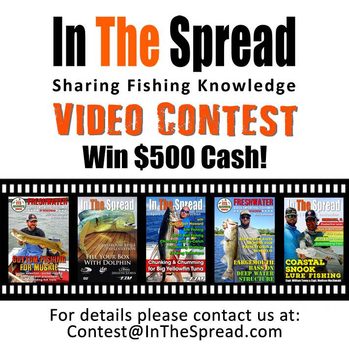 fishing video contest in the spread
