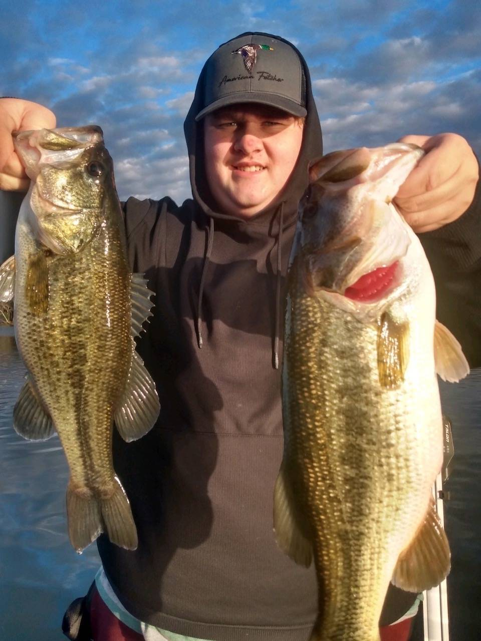 winter bass fishing lures in the spread mike gerry