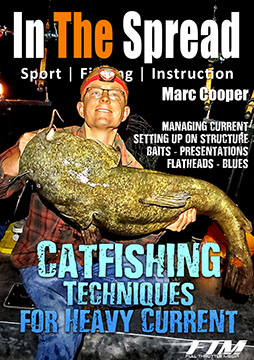 catfishing in the spread fishing video techniques heavy current