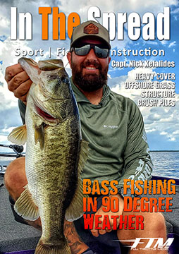 bass fishing hot weather nick kefalides in the spread video