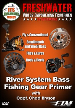 river bass gear in the spread fishing video chad bryson