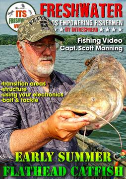 flathead catfish in the spread scott manning