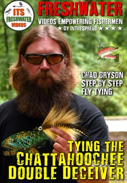 tying trout flies in the spread fishing video chad bryson double deceiver