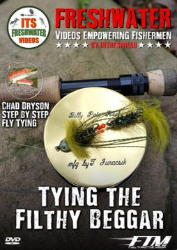 fly tying trout flies in the spread fishing video chad bryson