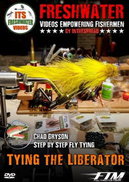 tying trout streamer flies in the spread fishing video chad bryson liberator fly