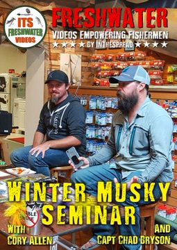 winter musky seminar in the spread video cory allen chad bryson muskie