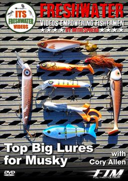 top big muskie lures in the spread fishing video cory allen