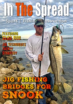 jig fishing snook in the spread video slobrob
