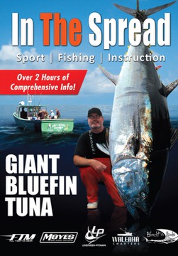 giant bluefin tuna in the spread fishing video