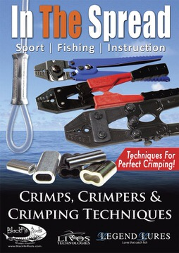 crimps crimpers crimping technique in the spread fishing videos
