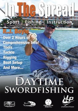 daytime broadbill swordfishing in the spread fishing video rj boyle