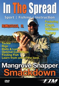 mangrove snapper fishing in the spread videos william toney