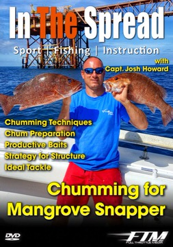 chumming mangrove snapper in the spread fishing videos