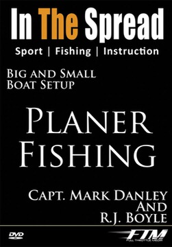 planer fishing in the spread video saltwater