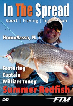 Site Casting to Summer Redfish with Capt. William Toney