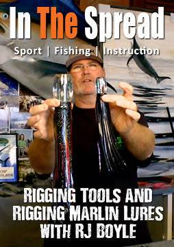 marlin lures rigging tools in the spread fishing video rj boyle