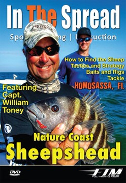 sheepshead fishing in the spread videos william toney