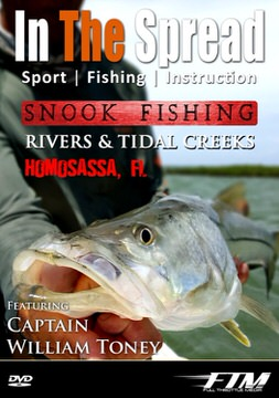 Snook Fishing in Coastal Rivers with Capt William Toney