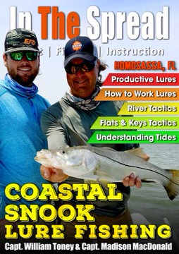 Lure Fishing for Coastal Snook with Capt. William Toney