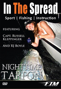 nighttime tarpon fishing in the spread video miami florida